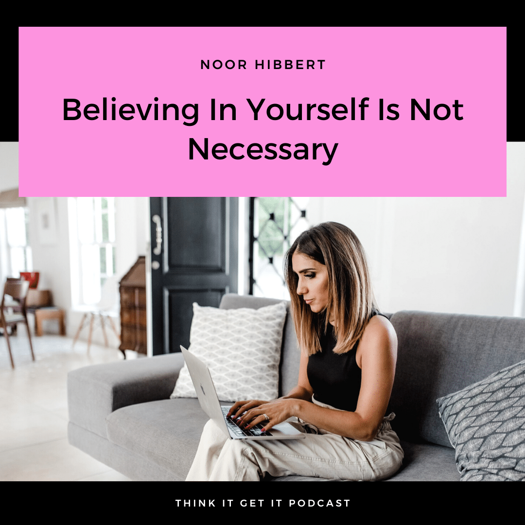Chapter 7: Believing In Yourself Is Not Necessary